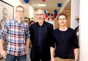 De fremtidige kollegaer Thomas og Morten